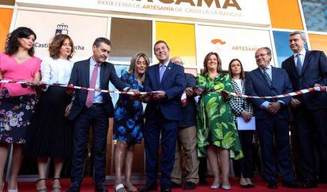 La Feria de Artesanía de Castilla-La Mancha aspira a convertirse en feria internacional dentro de tres años