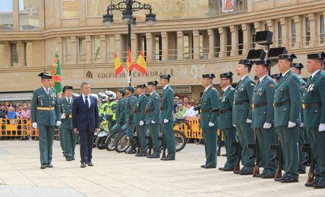 Celebración de Actos Institucionales en Albacete con motivo de la Festividad de la Virgen del Pilar