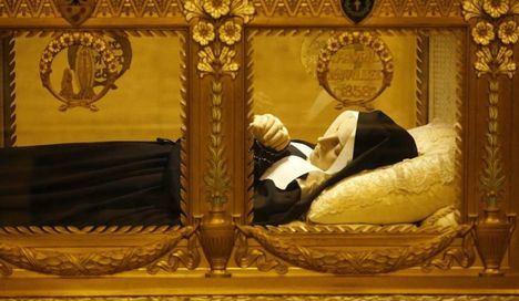 Las reliquias de Santa Bernadette en la Catedral de Albacete