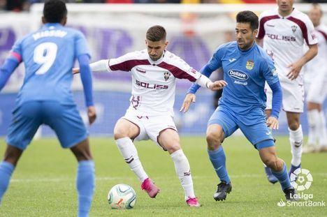 0-1. El Albacete derriba el fortín del Fuenlabrada