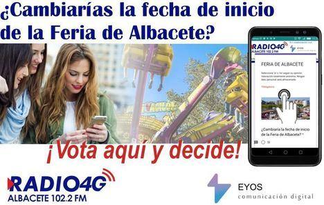 Encuesta de RADIO 4G ALBACETE, ¿Cambiarías la fecha de inicio de la Feria de Albacete?