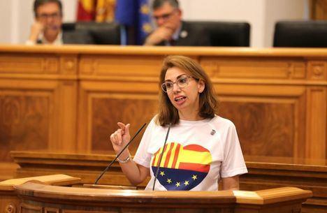 """Úrsula López, de Ciudadanos: """"Los castellanomanchegos merecen un sistema de salud más humano"""""""