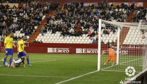 1-0. El Albacete se queda con los tres puntos frente al Cádiz