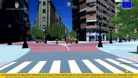 Las obras de remodelación de las calles Caba, Baños y Albarderos comienzan con un periodo de ejecución de cinco meses