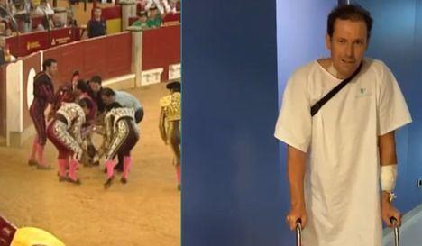 El banderillero Mariano de la Viña pasa a planta hospitalaria tras 17 días en la UCI