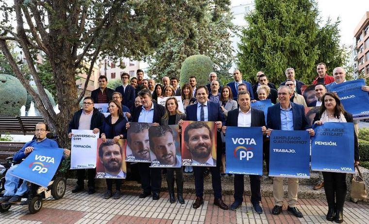 Paco Núñez: 'Contamos en el PP con el mejor, con Pablo Casado, con el líder más preparado, centrado, y con sentido de Estado'