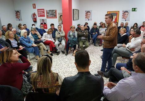 Santiago Cabañero: 'El próximo domingo sólo hay dos alternativas, o un gobierno del PSOE o uno donde esté Vox'