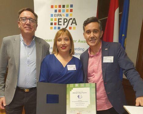 La Plataforma Digital de la Diputación de Albacete recibe en Maastricht un nuevo reconocimiento en el marco de los European Public Sector Award