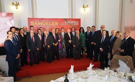 El alcalde destaca el apoyo a la tauromaquia que suponen eventos como los 'Premios Taurinos Samueles'
