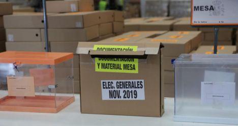 Este domingo, 1.573.256 castellano-manchegos podrán votar en 3.057 mesas electorales en la región