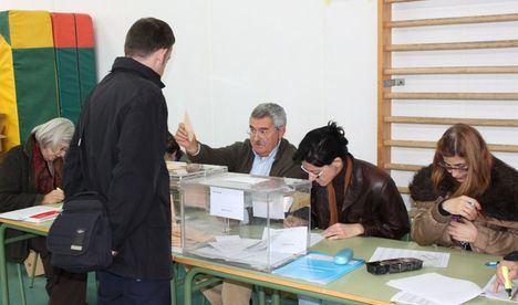 A las dos de la tarde ha votado el 38,07 por ciento de los electores de Castilla-La Mancha