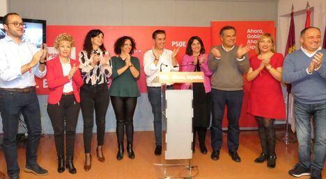 En Castilla-La Mancha el PSOE gana las elecciones y mantiene los 9 escaños, el PP asciende a 7 y Vox consigue 5