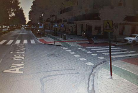 Un joven de 16 años ha fallecido tras la colisión entre una furgoneta y un ciclomotor en la Avenida de España en Albacete
