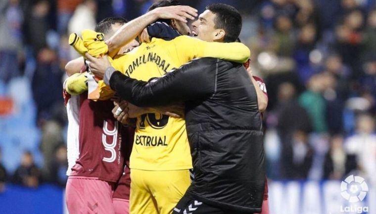 0-1: El portero Nadal salva al Albacete y Silvestre le da la victoria en el 94 contra el Zaragoza