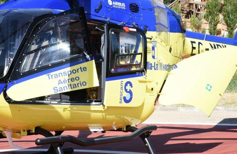 Un joven de 21 años, herido por arma blanca durante una pelea en Villarrobledo es trasladado al Hospital de Albacete