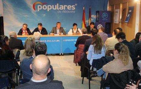 El Comité Ejecutivo Provincial del PP de Albacete destaca el impulso a Paco Núñez y Pablo Casado en las elecciones del 10-N