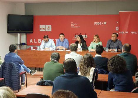 El PSOE de Albacete muestra su apoyo unánime al pacto para un gobierno progresista propuesto por la dirección federal