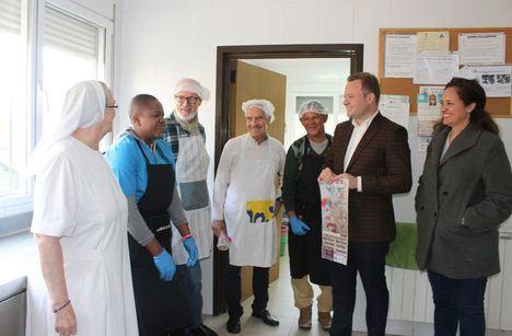 El alcalde anima a la ciudadanía a apoyar al Cotolengo asistiendo al Festival Taurino
