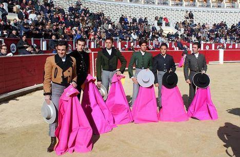 Sergio Serrano con dos orejas, triunfador en el festival del Cotolengo de Albacete