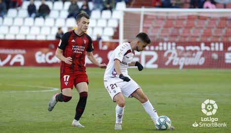 1-2. El Mirandés remonta a un Albacete que sigue sin pegada y es el equipo que menos goles marca en Segunda división
