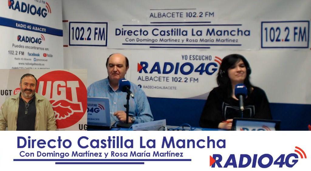 Carlos Pedrosa dimite, tras 17 años, como secretario general de UGT en Castilla-La Mancha