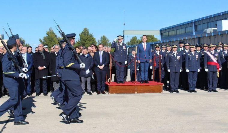 La Base Aérea de Los Llanos en Albacete afronta el nuevo año con dos ilusionantes retos por delante