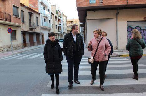 El Equipo de Gobierno se compromete a mejorar el parque de la plaza de Jesús de Medinacelli en una visita al barrio de Franciscanos