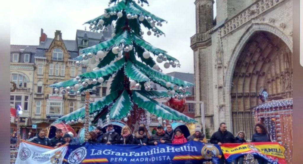 La Gran Familia Hellín viaja junto a 48 personas de Asprona al Santiago Bernabéu