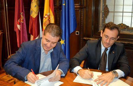 La Diputación de Albacete y Globalcaja firman una operación de crédito de 40'3 millones de euros para anticipos a Ayuntamientos y para el CSS