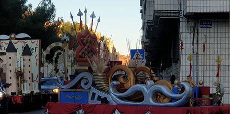 Las carrozas de la Cabalgata de Reyes ya están preparadas para recorrer las calles de Albacete