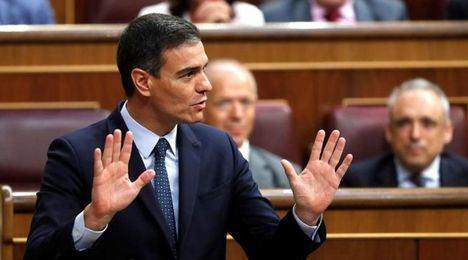 Pedro Sánchez es investido presidente pese a las llamadas al transfuguismo, con 167 votos a favor, 165 en contra y 18 abstenciones