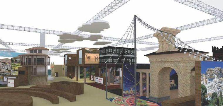 Se presenta el proyecto de Castilla-La Mancha para FITUR 2020 con la 'Puerta de Hierros' como protagonista