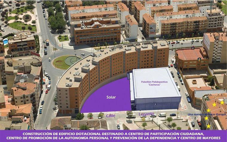 El Ayuntamiento de Albacete aprueba la contratación de las obras para construir el Centro de Autonomía Personal y de Participación Ciudadana