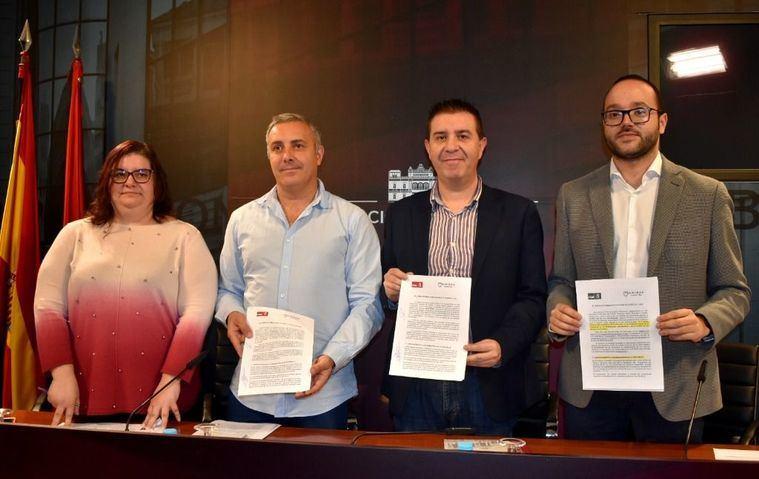 Cabañero detalla el acuerdo entre PSOE y UP-IU que posibilitará la aprobación de los Presupuestos de la Diputación de Albacete para 2020