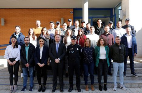 La Policía Local alcanza los 219 efectivos con la incorporación de 22 nuevos agentes, la mayor plantilla que ha tenido hasta el momento