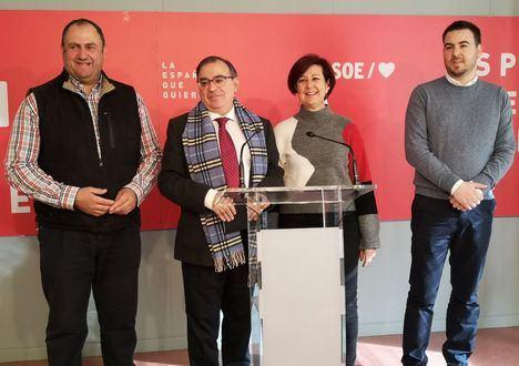 """El PSOE explica que los presupuestos regionales para 2020 destinan """"más de 7 de cada 10 euros a políticas sociales"""" y serán """"beneficiosos"""