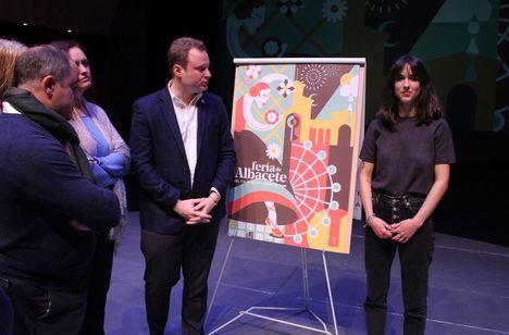 Celia Navalón, joven diseñadora de Albacete, gana el concurso del Cartel de Feria 2020