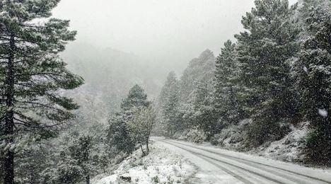 Albacete puede registrar acumulaciones de nieve de 20 centímetros en Bonete, Hellín, Almansa, Alcaraz y Sierra del Segura