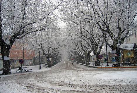 El Gobierno regional suspende mañana la actividad lectiva en las comarcas de Hellín, Almansa y Sierra de Alcaraz ante las previsiones de nieve