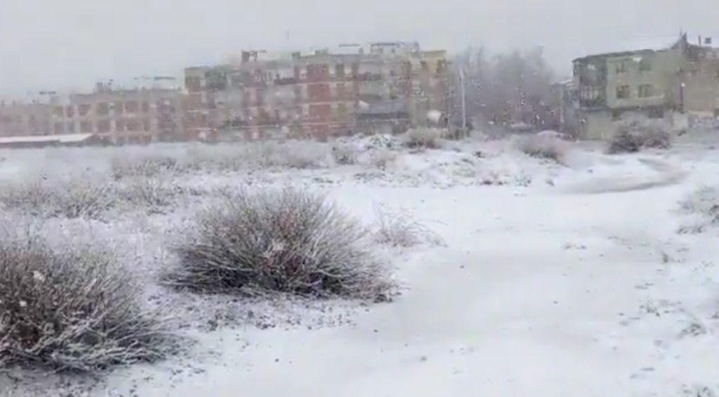 La nieve sigue condicionando la circulación en varios puntos de la red secundaria de carreteras de Castilla-La Mancha