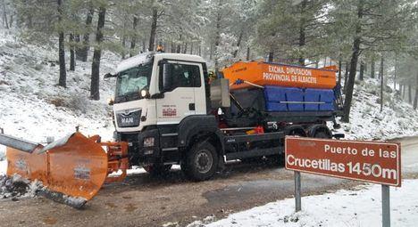 Las cinco provincias de Castilla-La Mancha en alerta amarilla y Albacete en roja por fuertes nevadas