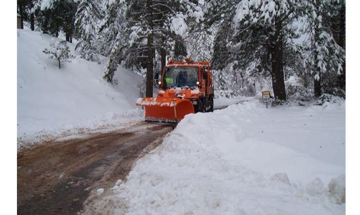 El SEPEI rescata a ocho personas afectadas por las nieve en Albacete