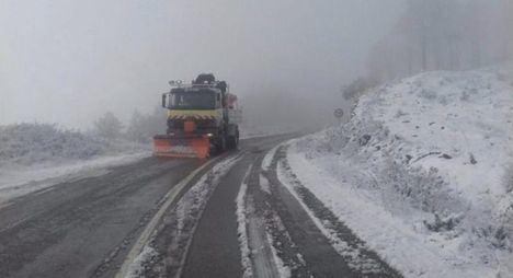 El Plan de Vialidad Invernal de Fomento ha actuado en 850 kilómetros de carreteras de la Junta de Comunidades en la provincia de Albacete