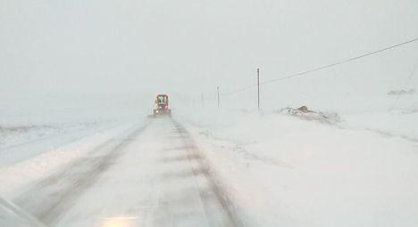 El Plan de Vialidad Invernal de la Junta de Comunidades ha actuado hoy en 730 kilómetros de la red autonómica de carreteras en la provincia de Albacete
