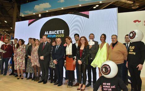 Albacete presenta una imagen moderna y rompedora para situarse en el centro de las miradas en FITUR