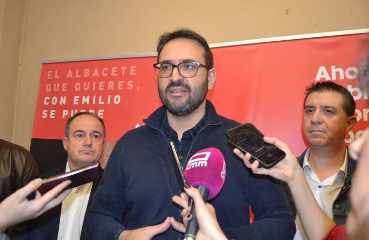 """Sergio Gutiérrez: """"El pacto en Albacete entre el PSOE y Ciudadanos está más vivo que nunca, porque pusimos en su centro a las personas y los intereses de la ciudad"""""""