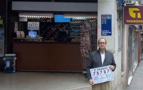 Parte del segundo premio de la Lotería Nacional vendido en Albacete