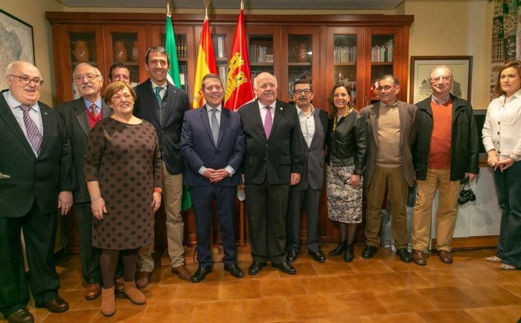 """García-Page: """"Castilla-La Mancha y Andalucía somos dos comunidades que no solo no rompen España, sino que la conforman"""""""