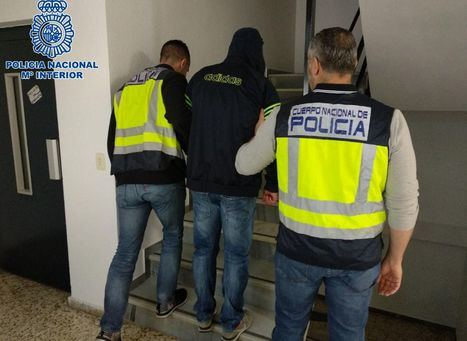 La Policía Nacional de Albacete detiene a un hombre que le fracturó los huesos de la nariz a un taxista en una discusión
