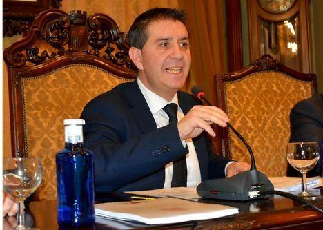 """Santiago Cabañero: """"Agradezco la coherencia de quienes han respaldado unos buenos Presupuestos anteponiendo el interés de la provincia a cualquier otro"""""""